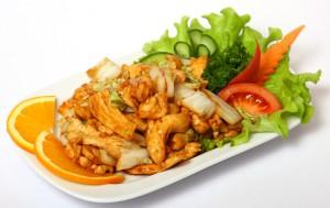 Цыпленок с овощами