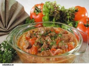 Мясо по-венгерски