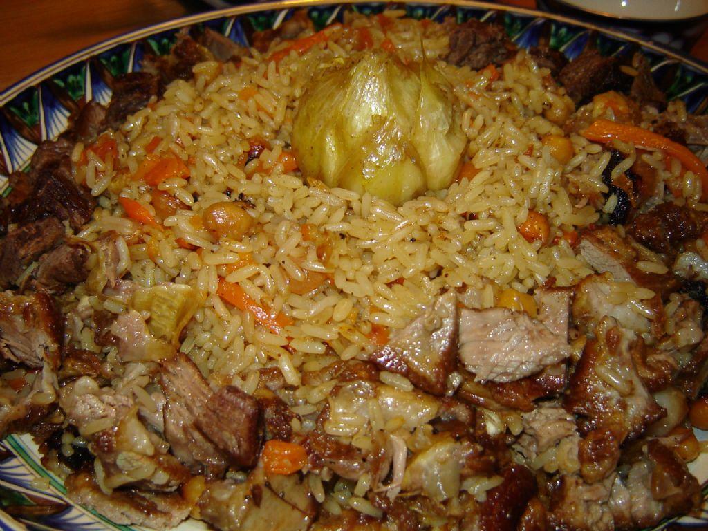 Рецепт приготовления плова из свинины