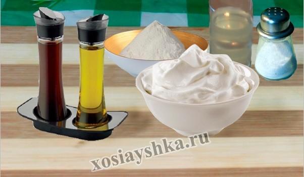 Ингредиенты для классического соуса