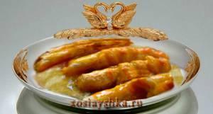 Слоеные трубочки с апельсинами (Кликните по картинке)