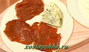 Мясо и сыр