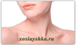 Уход за кожей шеи и области декольте