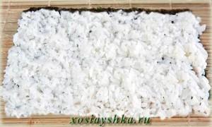Рис распределить по нори