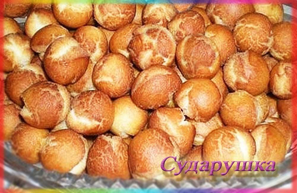 Жареные пончики