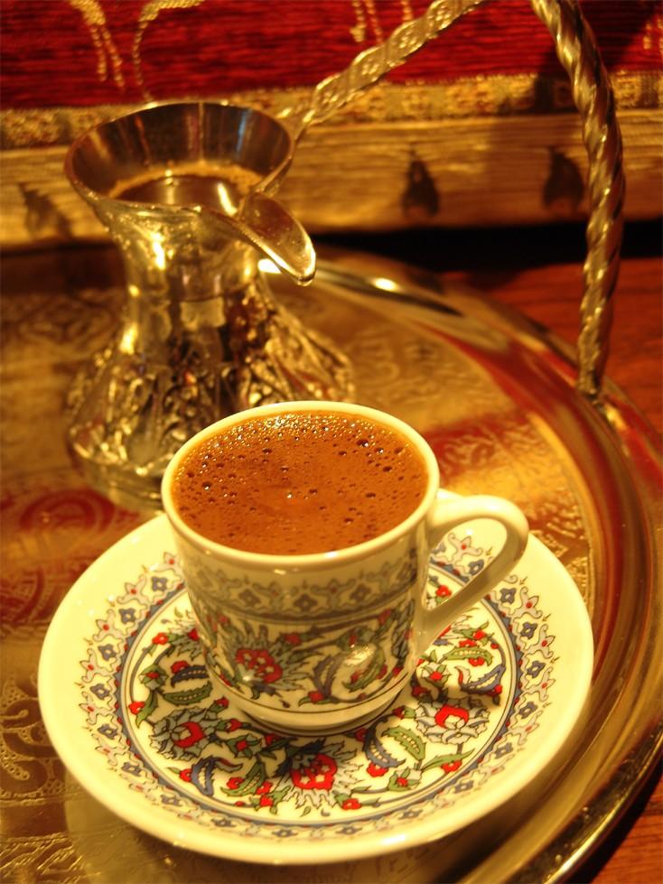 Кофе по-турецки с яичным желтком