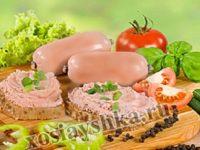 Паштет из говяжьей печени