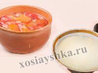 Перец, тушеный с помидорами