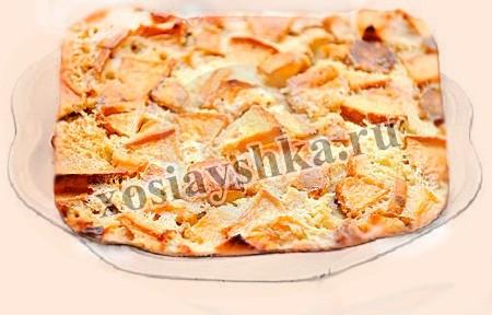 Шведский яблочный торт