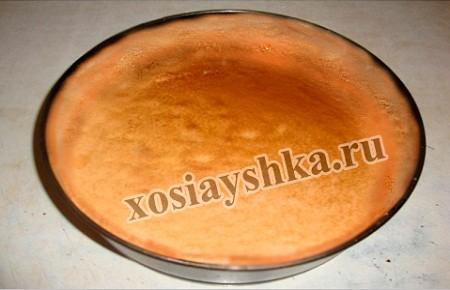Форма для выпекания с тортом (тестом)