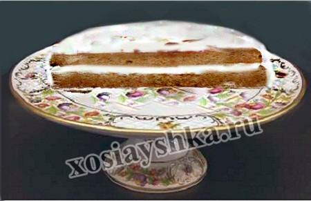 Торт сухарный