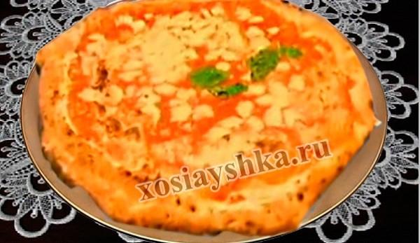 Неаполитанская пицца