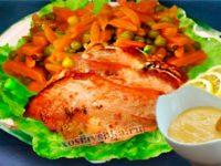Филе куриное в апельсиновом соусе