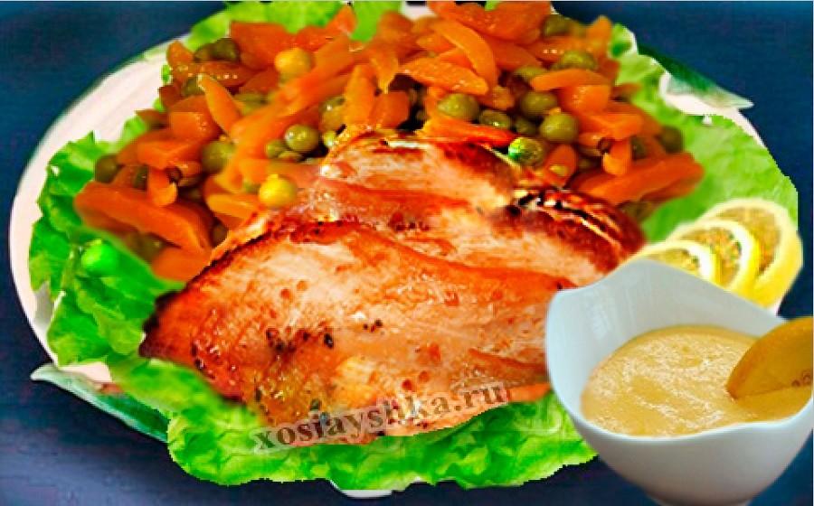 Филе курицы с апельсиновым соусом