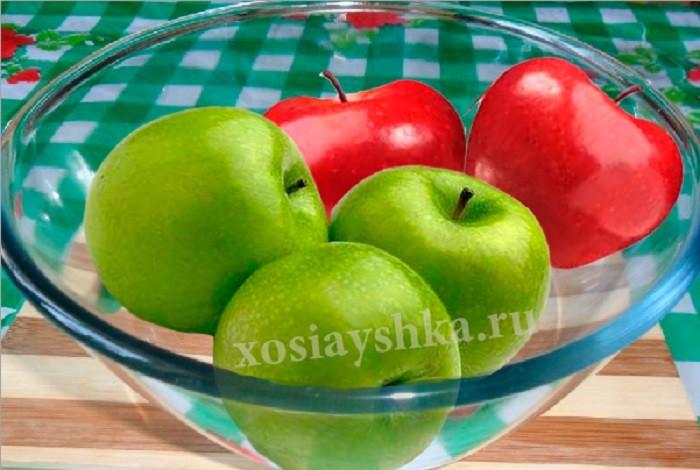 Яблоки свежие, спелые и ароматные