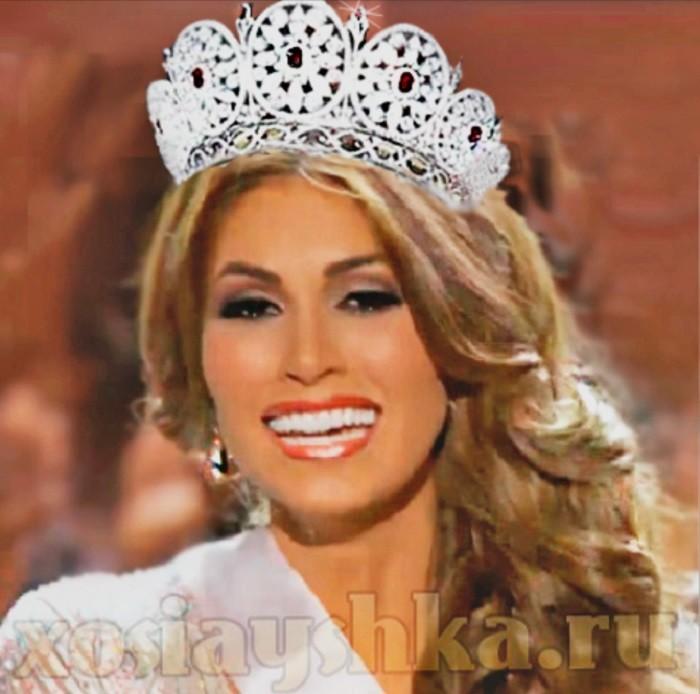 Мисс вселенная 2013. Самая красивая девушка мира.