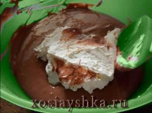 Шоколадно-сырная масса