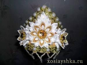 Корона от мастерицы Натальи Муковозовой
