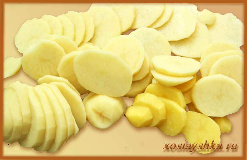 Ломтики картофеля