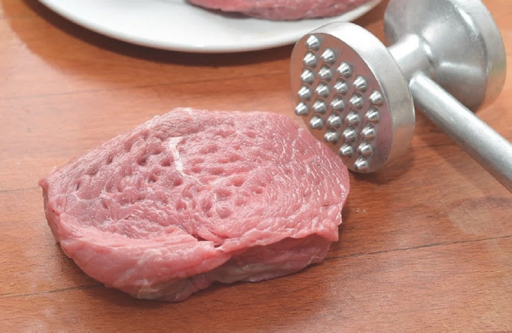 Мясо сочное с овощами